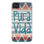 Azteca de Costa Rica Pura Vida iPhone 4 Cárcasas