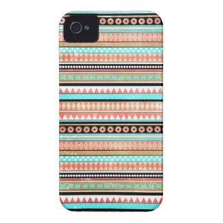 Azteca de moda iPhone 4 cobertura