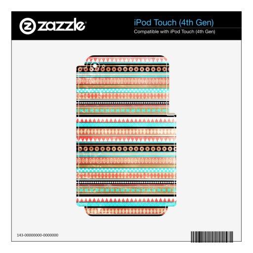 Azteca de moda iPod touch 4G skins