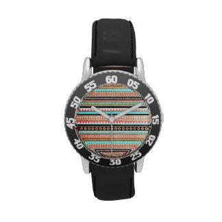 Azteca de moda relojes de mano