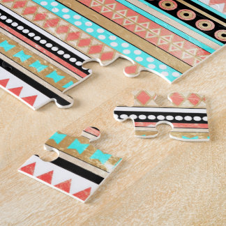 Azteca de moda rompecabezas