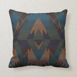 Azteca del diseño del sudoeste cojín decorativo