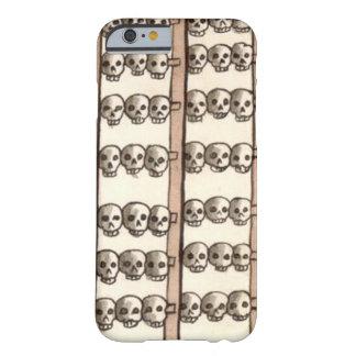Azteca del estante del cráneo de Tzompantli Funda Para iPhone 6 Barely There