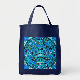 ~ azteca del símbolo del día del juicio final del