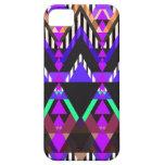 Azteca púrpura del estallido iPhone 5 Case-Mate funda
