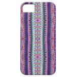 Azteca púrpura iPhone 5 Case-Mate protectores