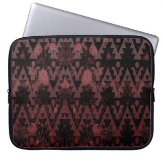 Azteca rojo mangas computadora