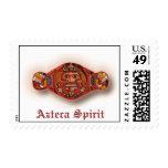 Azteca Spirit Postage Stamps