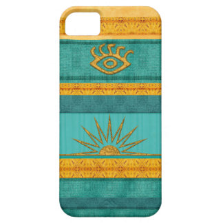 Azteca Sun de Santa Fe Funda Para iPhone 5 Barely There