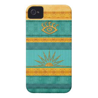 Azteca Sun de Santa Fe iPhone 4 Case-Mate Funda
