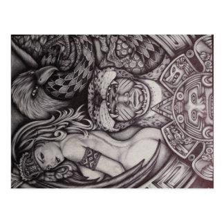 Azteca Tarjetas Postales