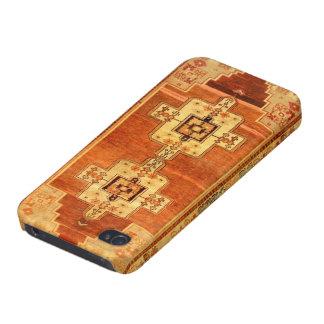 Azteca tejido modelo de la manta del vintage iPhone 4/4S fundas