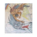 Azteca y dragón blocs de notas
