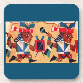 Aztecas aztecas posavasos de bebidas