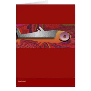 Aztec Themed AztecFish Card
