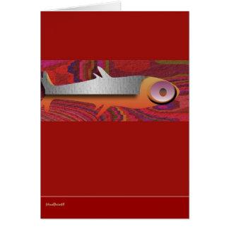 AztecFish Greeting Card