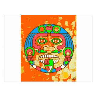 AztecOrange by Jesse Raudales Postcard