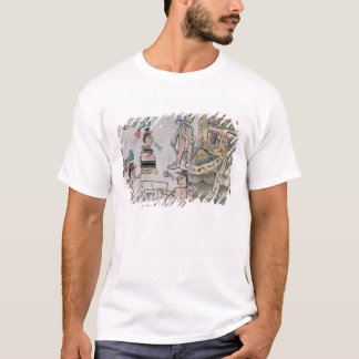 Aztecs consulting and following a map T-Shirt