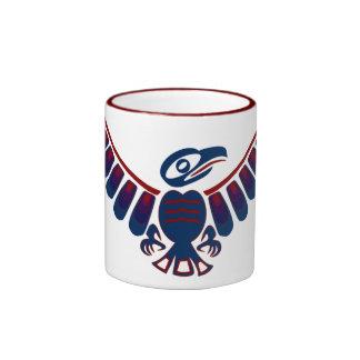 aztek eagle ringer mug