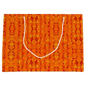 Aztec Themed Aztek Orange gift bag