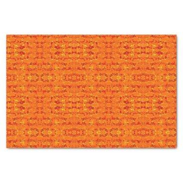 Aztec Themed Aztek Orange tissue paper