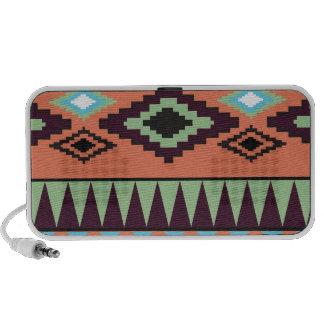 Aztek Tribal Southwestern Geometric Speakers