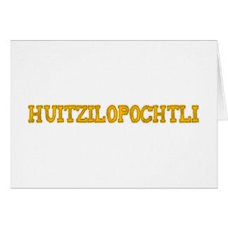 Aztekengott aztec god Huitzilopochtli Karten