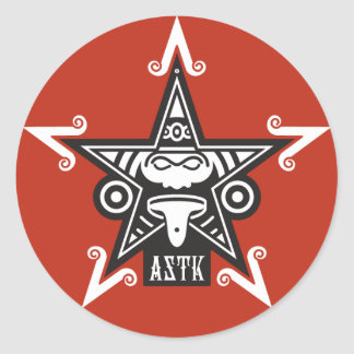 AZTK-5-3 '' PEGATINA REDONDA