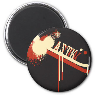 AZTK-Grffti Imán Redondo 5 Cm