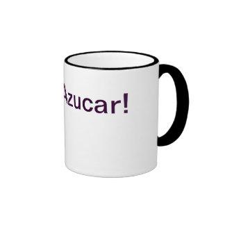 ¡Azucar!  ¡Azúcar!  ¡Dulce!  taza de café