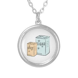 Azúcar de la especia joyerias personalizadas