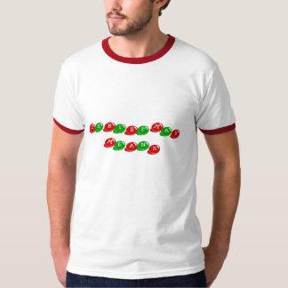 ¡Azúcar de los medios del navidad! Playera