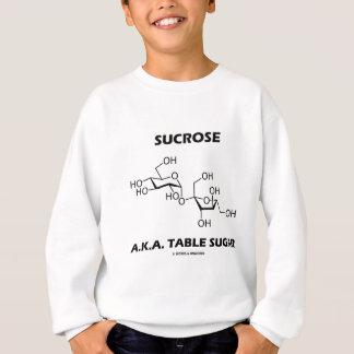 Azúcar de tabla de la sucrosa A.K.A. (molécula Sudadera