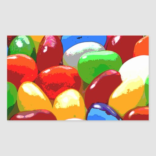 azúcar del dulce del caramelo pegatinas