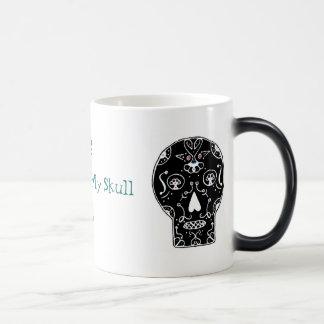 Azúcar para mi taza Morphing del cráneo