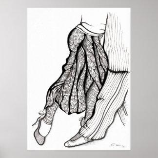 Azucar Pimienta y Sal - ArTgentina Tango Posters