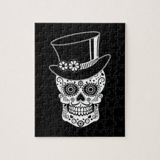 Azúcar Skull-01 del caballero Puzzle