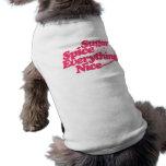Azúcar y especia camisa de perrito
