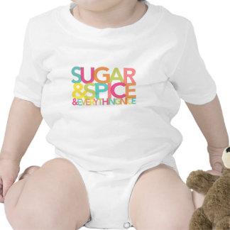 Azúcar y especia y todo bonita camisa