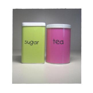 Azúcar y té - tiempo del té