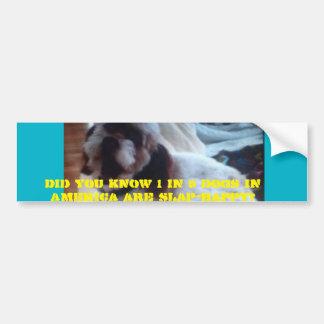 Azucare a la pegatina para el parachoques del pegatina para auto
