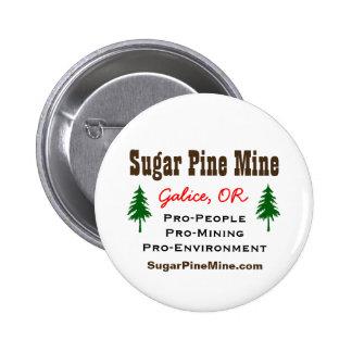 Azucare la gente de la mina del pino/el botón de