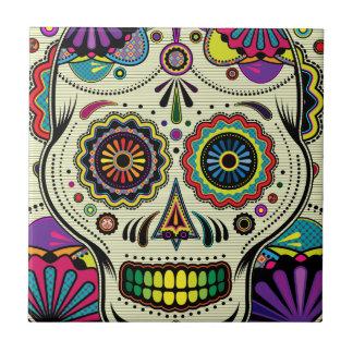 Azucare los colores/día del arte muerto - teja del