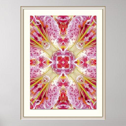 Azucena rosa con marcos - Lily pink - Impresiones