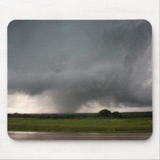 Azufre, cojín de ratón ACEPTABLE del tornado EF3 Tapetes De Raton