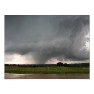 Azufre, impresión ACEPTABLE de la foto del tornado Fotografías