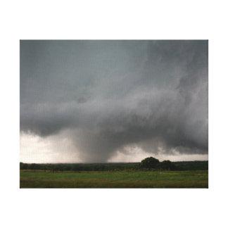 Azufre, lona ACEPTABLE del tornado EF3 Impresión En Lienzo