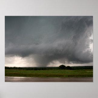 Azufre, poster ACEPTABLE del tornado EF3 Póster