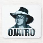 Azul 01 del logotipo de Ojatro Alfombrilla De Ratones