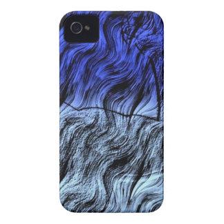 Azul 111 de Digitaces Case-Mate iPhone 4 Protectores